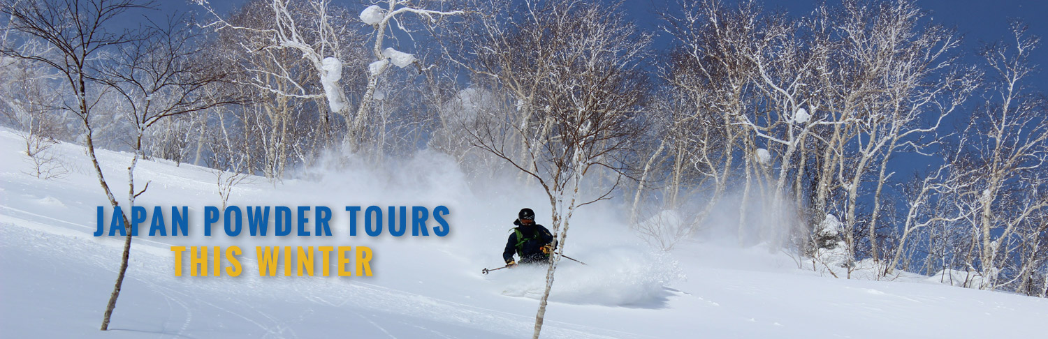 Hokkaido Powder Trips –  Snowboarding and Skiing in Japan
