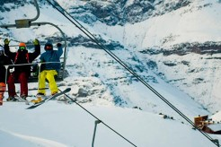 Ski Lifts in Central Chile Spinning 40 Days Earlier Than 2015