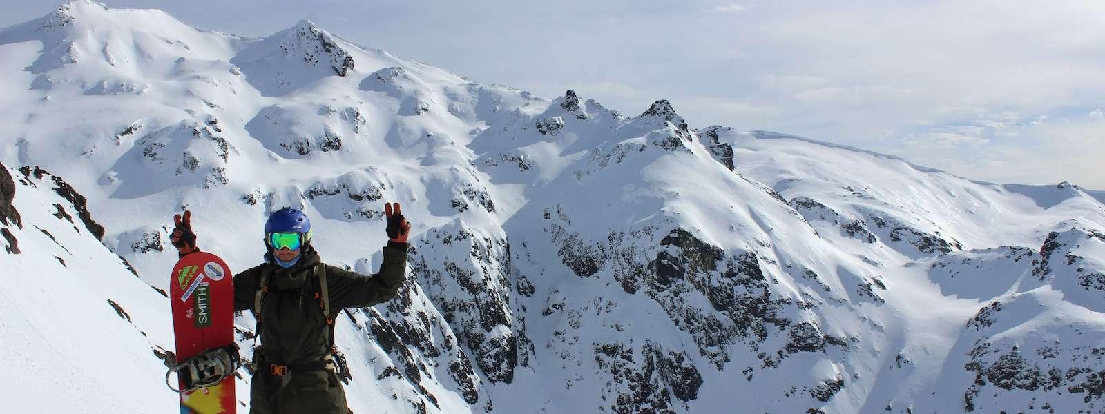 snowboarding argentina
