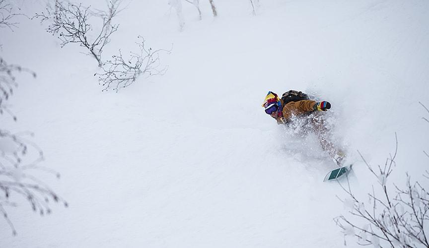 hokkaido snowboarding