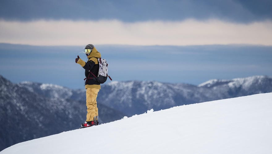 snowboarding in pucon chile