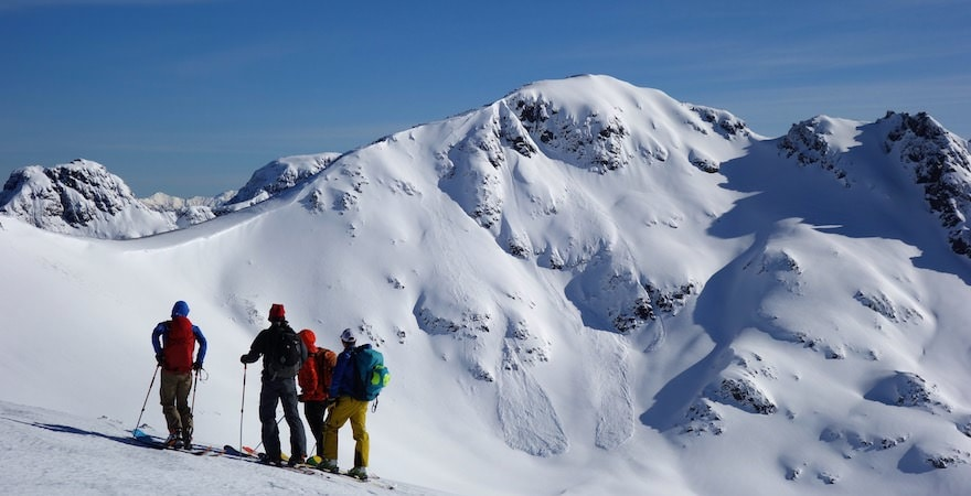 south america backcountry skiing