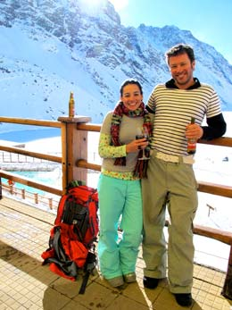 Honeymooners in South America