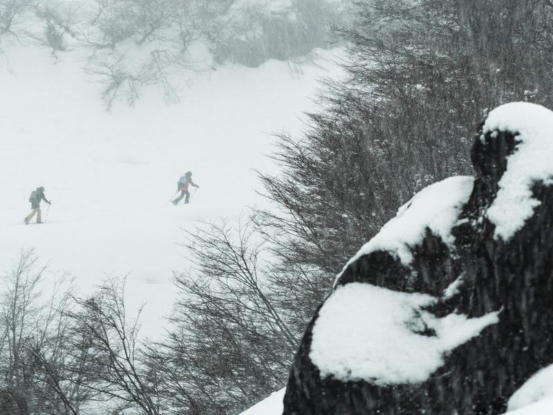 ski touring volcanoes