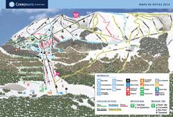 Cerro Bayo Trail Map
