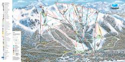 Cerro Catedral Trail Map