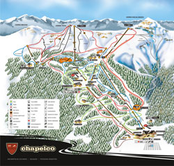 Chapelco Trail Map