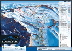 La Hoya Trail Map