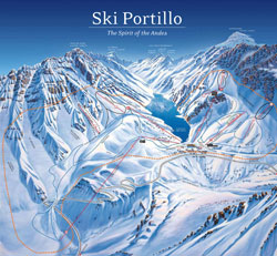 Portillo Trail Map