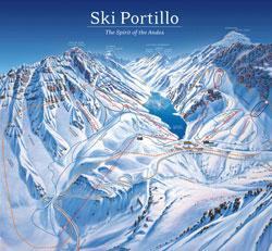 Portillo Trail Map