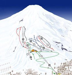 Pucon Trail Map