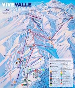 Valle Nevdao Trail Map